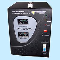 Стабилизатор напряжения релейный FORTE TVR-5000VA (5 кВт)
