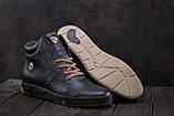 Мужские ботинки кожаные зимние синие Milord Olimp B, фото 2