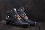 Мужские ботинки кожаные зимние синие Milord Olimp B, фото 5