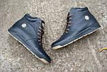 Мужские ботинки кожаные зимние синие Milord Olimp B, фото 7