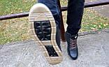 Мужские ботинки кожаные зимние синие Milord Olimp B, фото 9