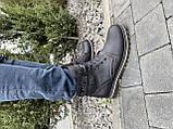 Мужские ботинки кожаные зимние черные Belvas 17197/1, фото 2