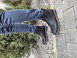 Мужские ботинки кожаные зимние черные Belvas 17197/1, фото 3