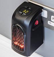 Портативный обогреватель Handy Heater черный, с пультом, 350W, два режима, от 15 до 32°C, автоматическое,