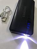 PowerBank SAMSUNG 60000mAh МОЩНЫЙ +LED фонарик, 3 USB, повербанк универсальная батарея, внешний аккумулятор, фото 5