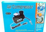 Автомобильный компрессор Air Pomp MJ004, для подкачки шин, автонасос, фото 2