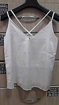 Женский топ блуза с переплётом на бретелях 42-52 sh-топ, фото 3