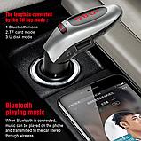 Автомобильный FM-трансмиттер G96 Bluetooth, громкая связь / ФМ модулятор / Трасмиттер, фото 8