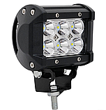Фара LED (6 LED) 5D-18W-SPOT Светодиодная дополнительная автомобильная автофара на крышу противотуманка, фото 3