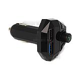 Автомобильный FM-трансмиттер G18 (2USB, 2.1A, MP3 Player), чёрный, фото 3