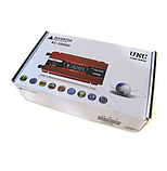Преобразователь UKC авто инвертор 12V-220V 1000W LCD KC-1000D, фото 2