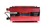 Преобразователь UKC авто инвертор 12V-220V 1000W LCD KC-1000D, фото 4