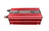 Преобразователь UKC авто инвертор 12V-220V 1000W LCD KC-1000D, фото 6