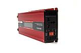 Преобразователь UKC авто инвертор 12V-220V 1000W LCD KC-1000D, фото 7