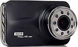 Видеорегистратор DVR Blackbox Carcam T639 1080Р с ночной сьёмкой, фото 3