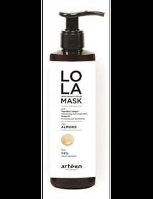 LOLA Your beauty color mask ALMOND 200мл  для пом'якшення зол. відтінку, надання пісочного тону