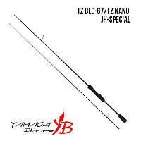 Спиннинг Yamaga Blanks Blue Current TZ BLC-67/Tz Nano JH-Special 2.02м, тест до 5 гр