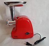 Электрическая мясорубка с насадками Wimpex WX-3076 2000W, фото 2