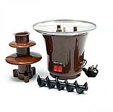 Мини Шоколадный фонтан MINI CHOCOLATE FONTAINE Лучшая цена!, фото 6