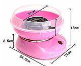 Аппарат для приготовления сладкой сахарной ваты в домашних условиях Candy Maker, фото 7