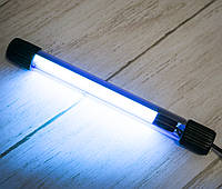Бактерицидная УФ лампа UV-C 9W ультрафиолетовая для обеззараживания дома (бактерицидна, ультрафіолетова)