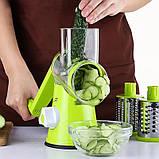 Терка, Овощерезка - Мультислайсер для овощей и фруктов Kitchen Master, фото 3