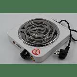 Электроплита 1 комфорка, спиральная, WimpeX WX-100B-HP, мощная плита, фото 2