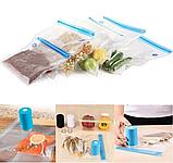 Вакуумный упаковщик для еды Vacuum Sealer Always Fresh, вакуумные пакеты для еды, фото 9