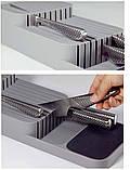 Кухонный органайзер для ножей DrawerStore, лоток для ножей, подставка для ножей, фото 3