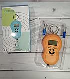 Кантерные цифровые весы с батарейками в комплекте смайлик от 0,01гр до 50кг, фото 4