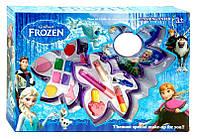 """Косметика детская """"Frozen"""" тени, румяна, помада, блеск, лак, MY30088C-77"""