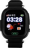 Смарт-часы детские UWatch Q90 GPS контроль звонки сообщения SOS Wi-Fi, фото 2