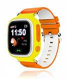 Смарт-часы детские UWatch Q90 GPS контроль звонки сообщения SOS Wi-Fi, фото 4