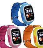 Смарт-часы детские UWatch Q90 GPS контроль звонки сообщения SOS Wi-Fi, фото 8