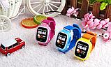 Смарт-часы детские UWatch Q90 GPS контроль звонки сообщения SOS Wi-Fi, фото 9