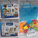 Мозаика конструктор с шуруповертом Creative Puzzle 193 детали TLH-28, фото 6
