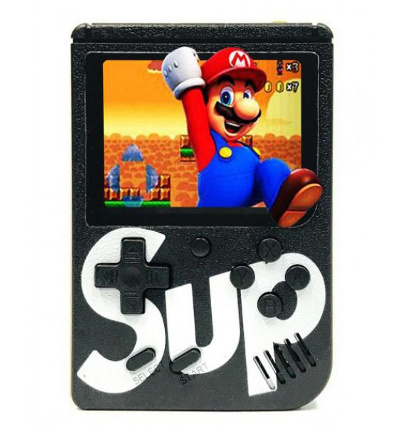 Ретро приставка Sup консоль с цветным LCD экраном без джойстика 8-bit 400 игр