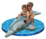 Детский надувной плотик Intex 58535 Дельфин, 175 х 66 см, фото 7