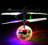 """Светящийся летающий шар LED Flying Ball PC398, Индукционная игрушка """"Летающий шар"""", фото 3"""