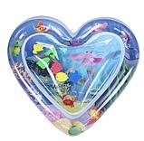 """Водный коврик для детей """"Сердце"""", развивающий надувной акваковрик и для младенца, фото 2"""