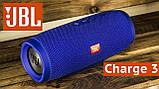 Портативная блютуз колонка JBL Charge 3 колонка с USB,SD,FM, фото 2