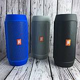 Портативная колонка JBL Charge 2+ Большая! блютуз (bluetooth) + радио + микрофон + PowerBank СИНЯЯ, фото 6