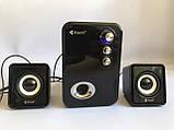 Компьютерные колонки Kisonli U-2100 Desktop Speaker 2.1 USB, фото 2