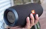 Портативная блютуз колонка JBL Charge 3 колонка с USB,SD,FM ЧЕРНАЯ, фото 4