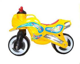 "Каталка ""Мотоцикл"" (оранжевый) KW-11-006 ОРА"