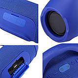Колонка JBL BOOMBOX MINI E10 с USB, SD, FM, Bluetooth, 2-динамиками, хорошая реплика JBL СИНЯЯ, фото 4