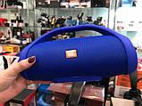 Колонка JBL BOOMBOX MINI E10 с USB, SD, FM, Bluetooth, 2-динамиками, хорошая реплика JBL СИНЯЯ, фото 5