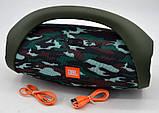 Колонка JBL BOOMBOX MINI E10 с USB, SD, FM, Bluetooth, 2-динамиками, хорошая реплика JBL КАМУФЛЯЖ, фото 5