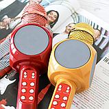 Беспроводной портативный микрофон WSTER WS-1816 для караоке с подсветкой Bluetooth, фото 4