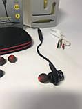 Спортивные беспроводные Bluetooth наушники Awei AK4 Black, фото 5